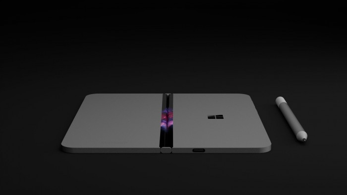 这就是Surface Phone?微软可折叠手机概念图曝光