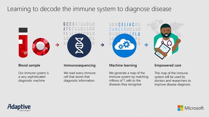 微软与生物技术公司开展AI驱动的血液检测 同时诊断数十种疾病