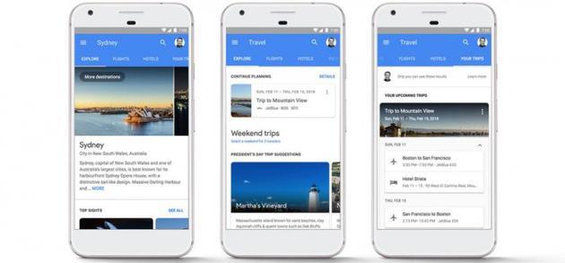 移动端谷歌搜索再更新:现可直接预订航班和旅馆