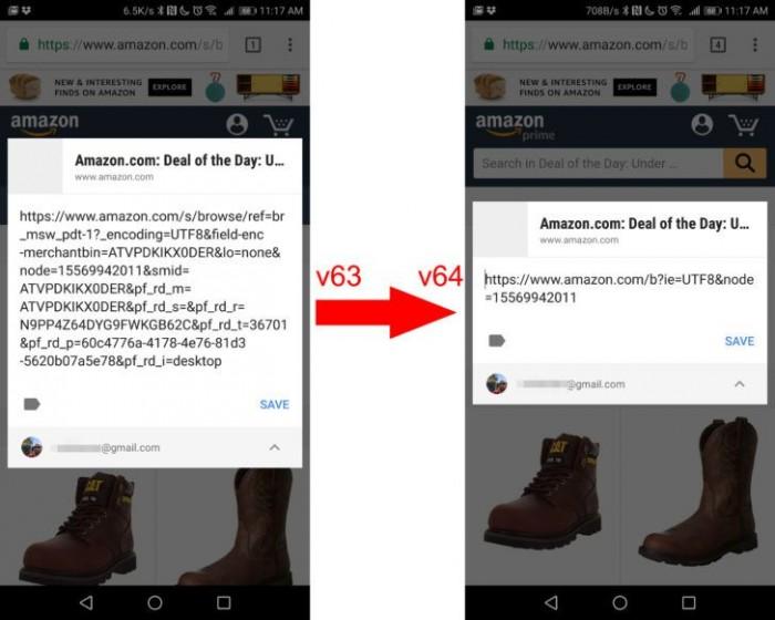 Chrome 64发布:自动缩短冗长的推广链接