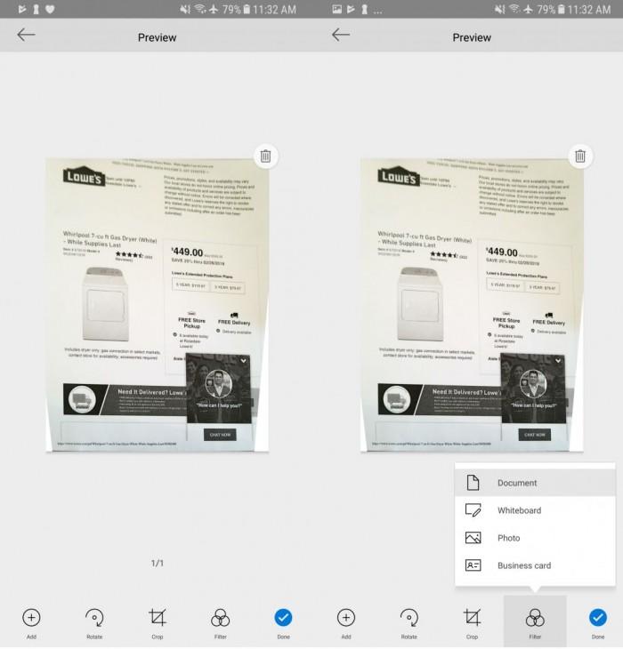 Android端OneDrive应用更新:新增多项图片编辑功能