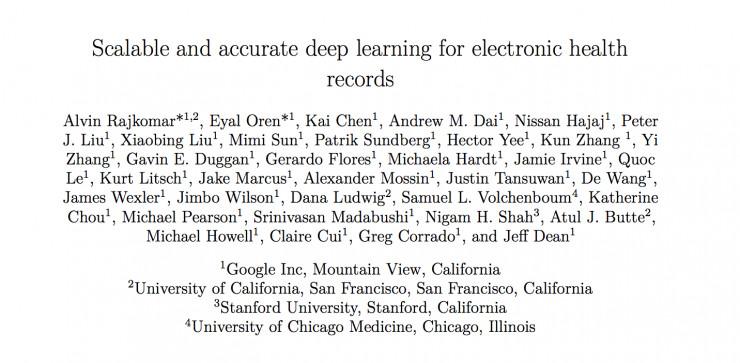 谷歌开源FHIR标准协议缓冲工具,利用机器学习预测医疗事件