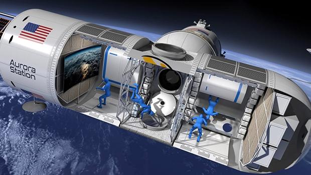太空中的豪华酒店快开起来了,花80万美元可在星辰大海中睡一晚