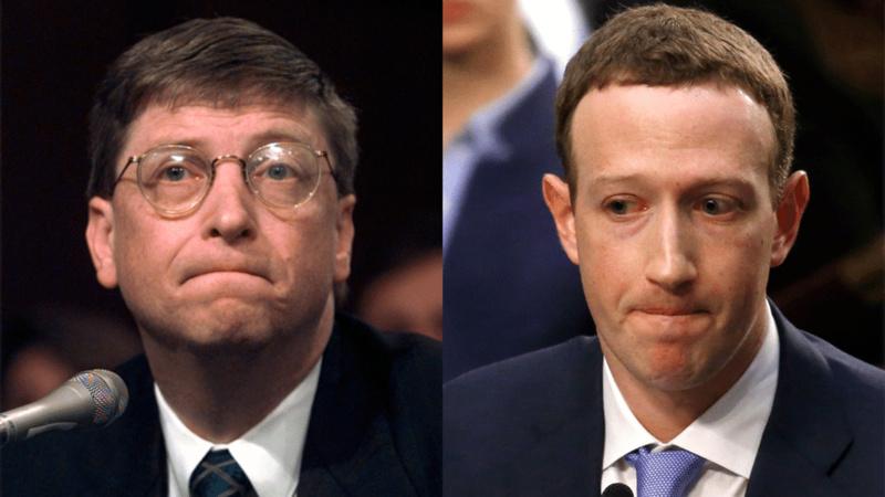 互联网变化:从1998年的盖茨听证会,到2018年的扎克伯格听证会
