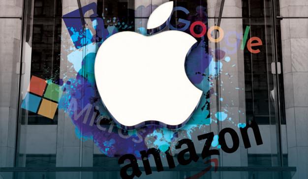 亚马逊、苹果、微软、Google 究竟谁会最先触及万亿美元市值
