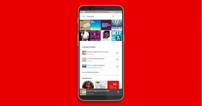 谷歌发Android福利:不装应用就能收听播客或订阅频道内容