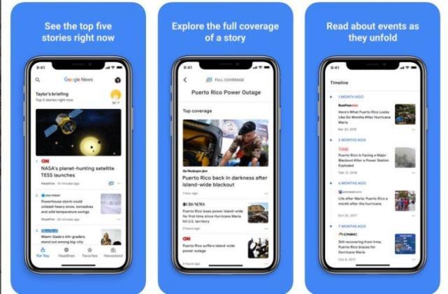 紧追苹果 谷歌AI新闻聚合服务Google News美国上架