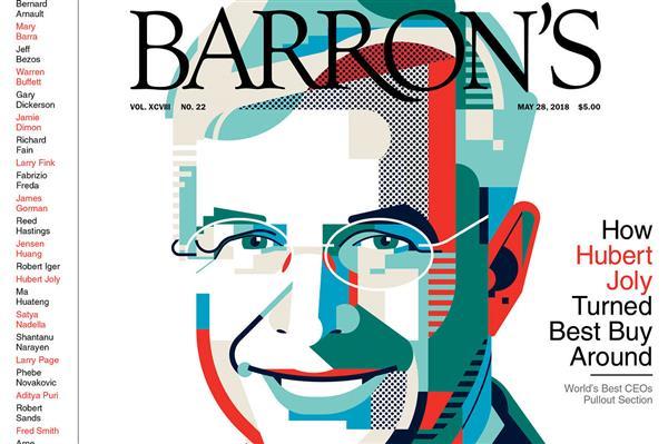 《巴伦周刊》评全球最佳30位CEO:马化腾、黄仁勋上榜