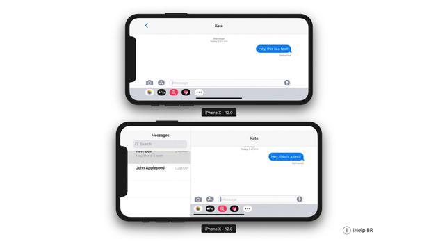 界面优化:iOS 12测试版曝光新iPhone的横向布局