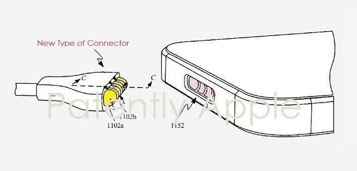 MagSafe复活?苹果新专利显示或将放弃Lightning接口