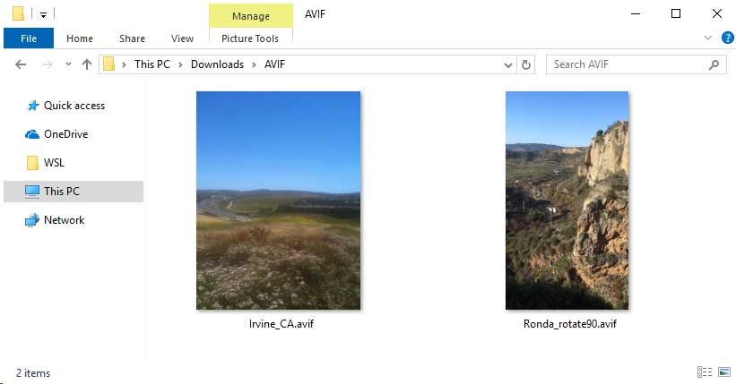 微软正在为Windows 10添加对AVIF图像的支持
