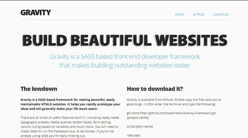 12 HTML5-CSS FrameWorks For Easy WebDevelopment