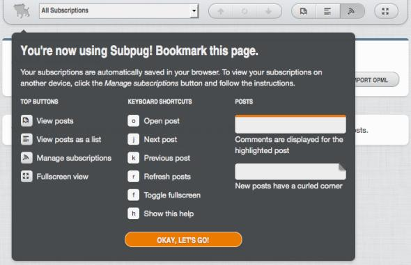 RSS阅读器Subpug功能或赶超谷歌Reader(图)