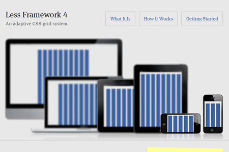 响应式 Web 设计必备的 12 款 CSS 框架